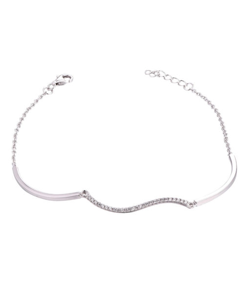 Elegant Armband i äkta silver 925 G.S Collection
